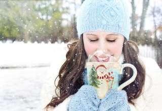 winter-snow-pretty-woman