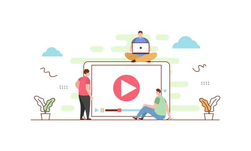 Video player banner