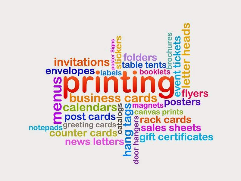 Digital Printing Words